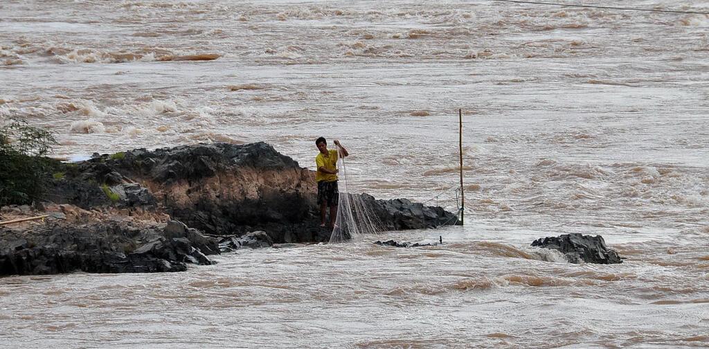 Các đập thủy điện ở thượng nguồn gây nhiều tác động tới các loài cá trên sông Mêkông.