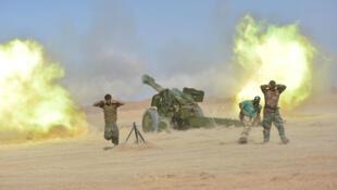 伊拉什叶派民兵组织进攻泰勒阿费尔