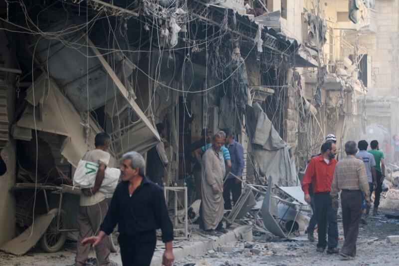 Алеппо. 11/10/2016
