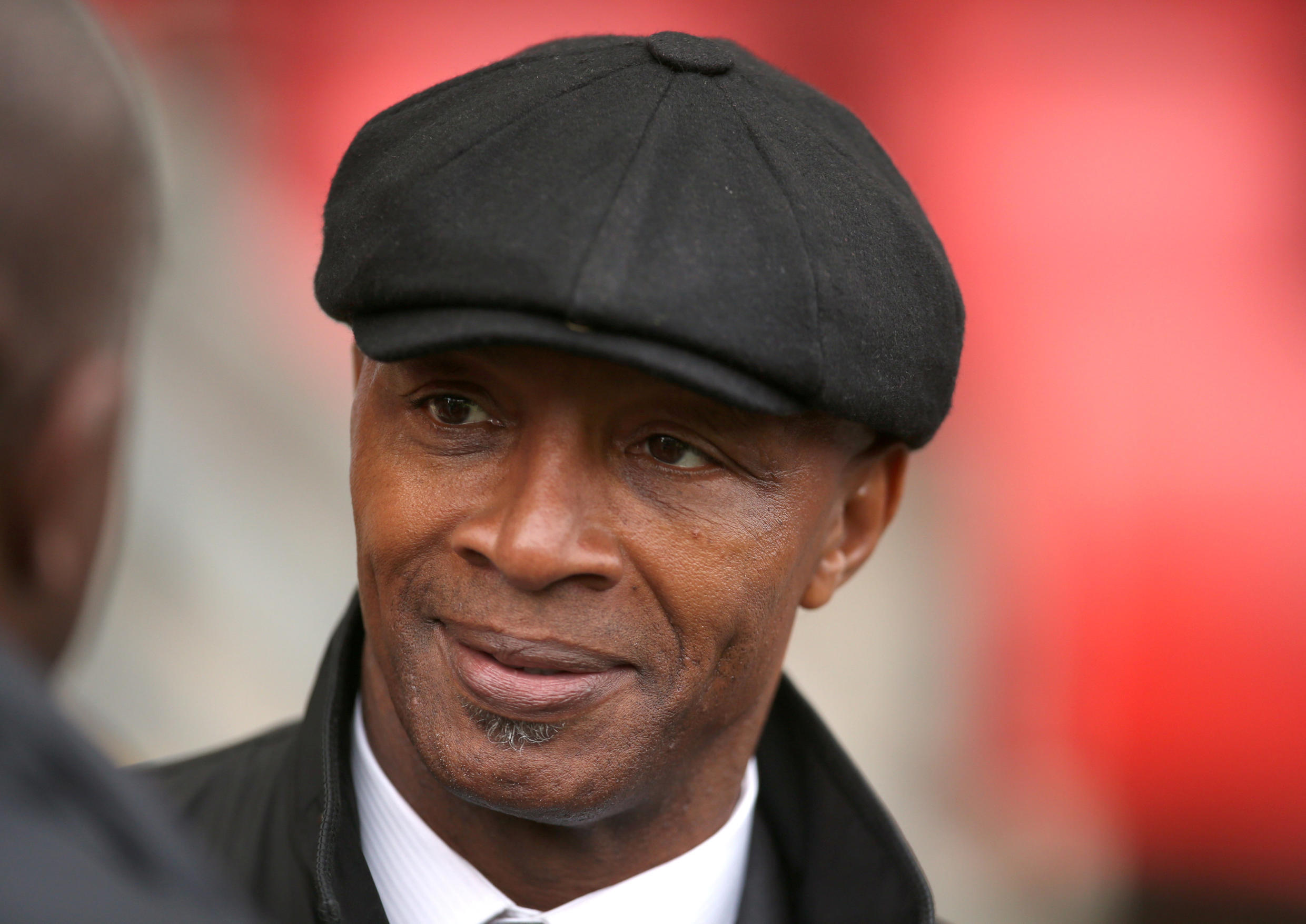 Cyrille Regis played five times for England.
