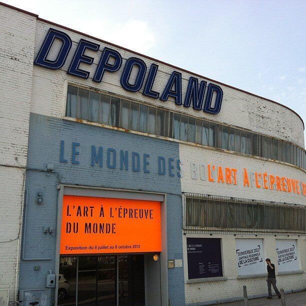 Le Dépoland, à Dunkerque.