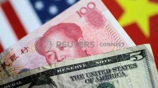 美元与人民币