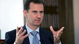 Shugaba Bashar al-Assad na Syria.