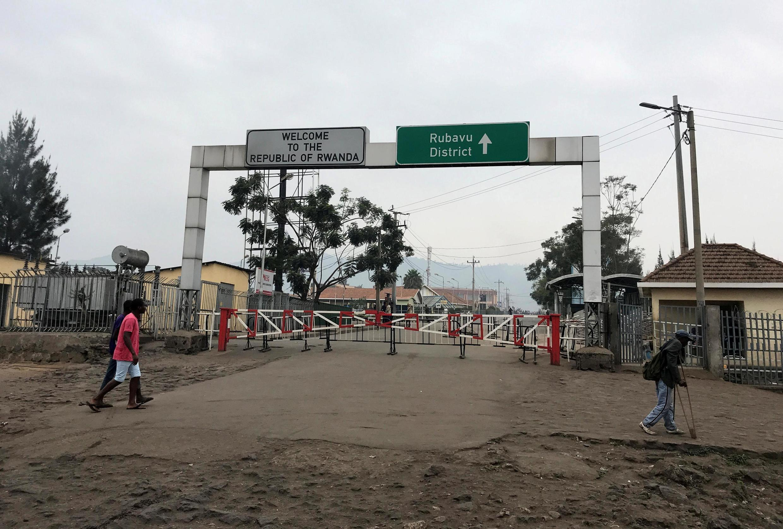 Eneo la mpaka kati ya DRC na Rwanda.