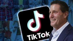 抖音国际版TikTok美籍CEO凯文·梅耶尔资料图片
