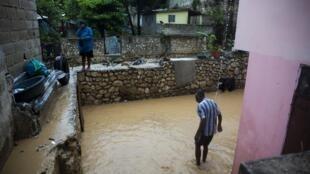 La tempête Laura a fait au moins neuf morts en Haïti et des dégâts considérables.