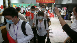 2020年9月16日, 自内地抵香港的医护团队结束协助香港社区新冠病毒全民检测计划,离开下榻旅馆。