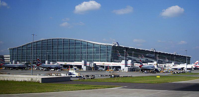Le terminal 5 de l'aéroport d'Heathrow.