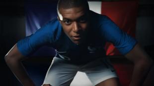 L'une des publicités Nike réalisées à l'occasion du Mondial 2018 en Russie.