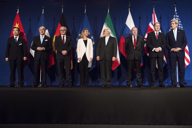 Iran và sáu cường quốc đạt được một thỏa thuận khung về hồ sơ hạt nhân, ngày 02/04/2015.