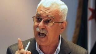 Rais wa mpito wa baraza la Syria, George Sabra