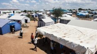 Hujum Muon, un des responsables du camp de déplacés de Mangateen à Jub, veut rester et servir son pays. (image d'illustration)