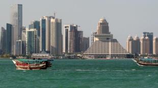 Doha, Catar, este 5 de junio de 2017.