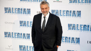 "French director Luc Besson at the premiere of his flop, ""Valerian"""