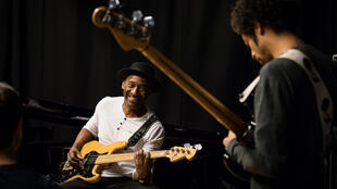 Marcus Miller à la Montreux Jazz Academy (Mars 2017).