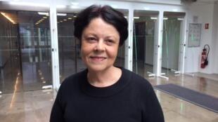 A escritora Ana Maria Clark Peres.