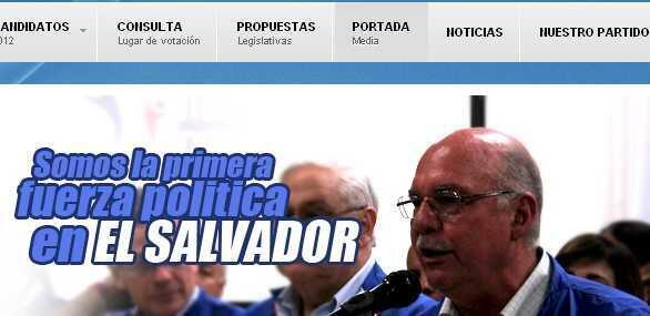 """El expresidente Alfredo Cristiani afirmó durante un acto de celebración en la sede del partido que como oposición en los próximos dos años harán """"un trabajo en favor de la gente""""."""