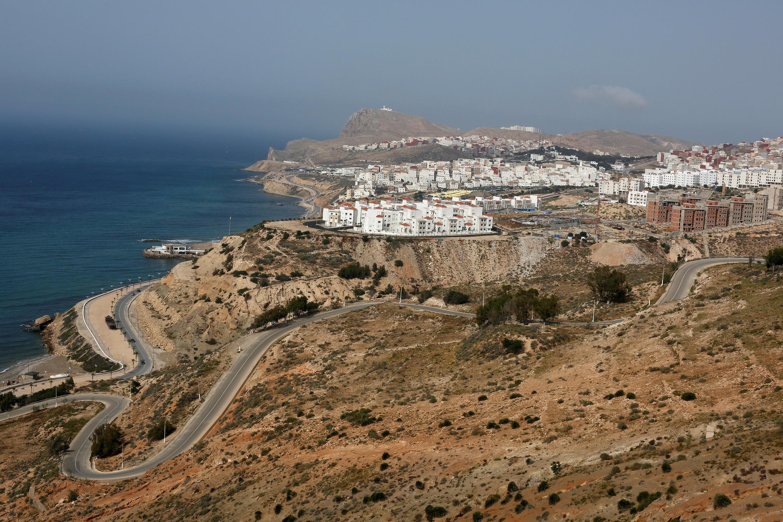 La ville de Al Hoceima, au nord du Maroc, sur la côte méditerranéenne, le 31 mai 2017.