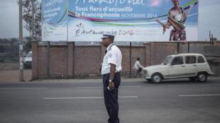Dans une rue d'Antananarivo, le 24 novembre 2016.