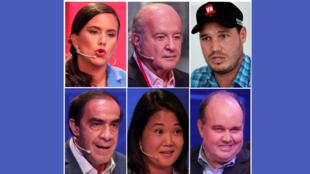 No Peru, num sistema político totalmente fragmentado, uma paridade inédita envolve seis candidatos com chances de vitória