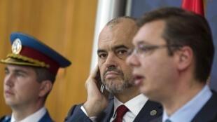 Firiya Ministan Serbia Aleksandar Vucic da takwaransa na Albania
