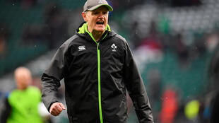 Joe Schmidt is only the third Ireland coach to lead the side to a Grand Slam of victories.