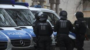 Polisi ya Frankfurt inaendelea na operesheni ya kuwasaka wapiganaji wa IS.