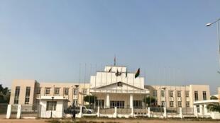 Le palais du gouvernement de Guinée-Bissau.