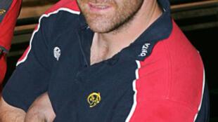 Anthony Foley, ici en 2006, est décédé dimanche 16 octobre 2016.