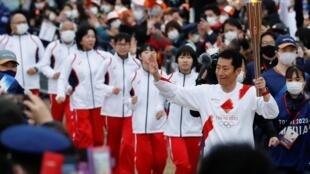 Départ Flamme Olympique Japon