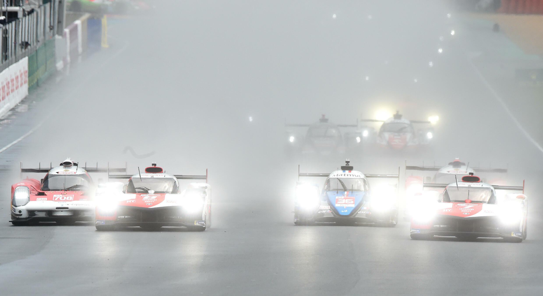 Soki au départ de l'étape du Mans samedi