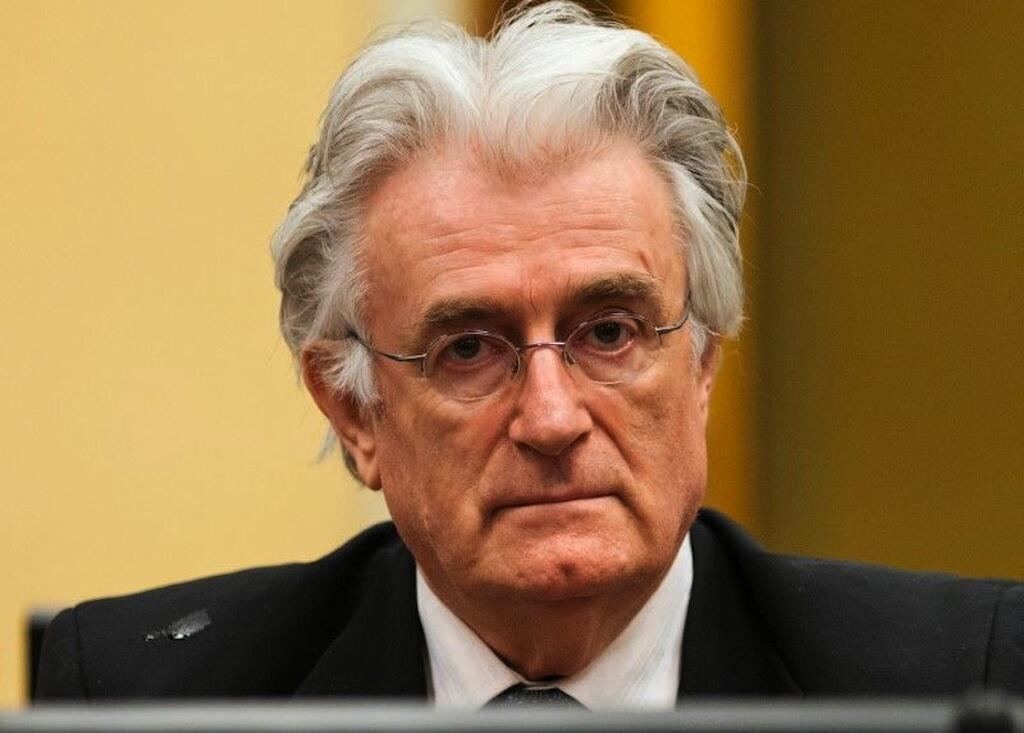 Kiongozi wa zamani wa Waserbia wa Bosnia, Radovan Karadzic.