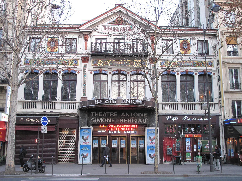 巴黎Antoine 剧院正在上演《艺术》一剧