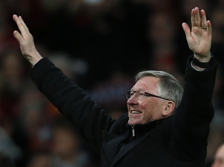 Sir Alex Ferguson, técnico do Manchester United.