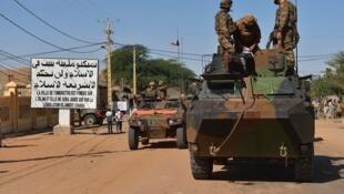 Dakaru na sinitiri a yankin Kidal dake hanun 'yan tawaye a Mali