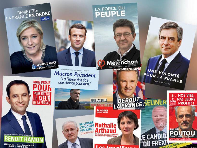 La campaña oficial acaba de empezar en Francia este lunes 10 de abril de 2017.