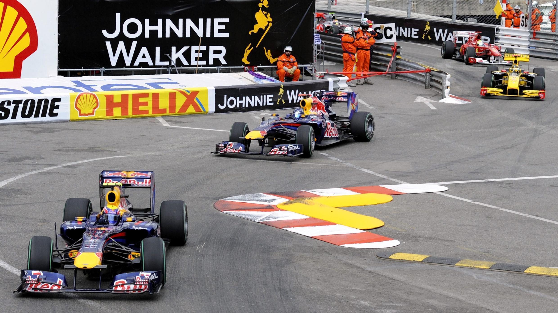 Mark Webber y Sebastian Vettel dominaron el Gran Premio de Mónaco.
