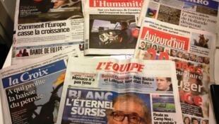 Diários franceses 05/11/2014