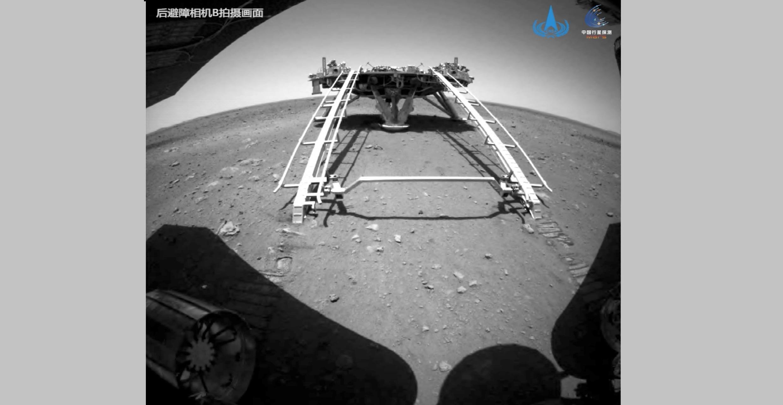 2021-05-22 space exploration mars china rover zhurong tianwen-1