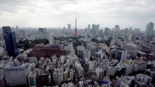 Tokyo, la capitale du Japon (août 2016).