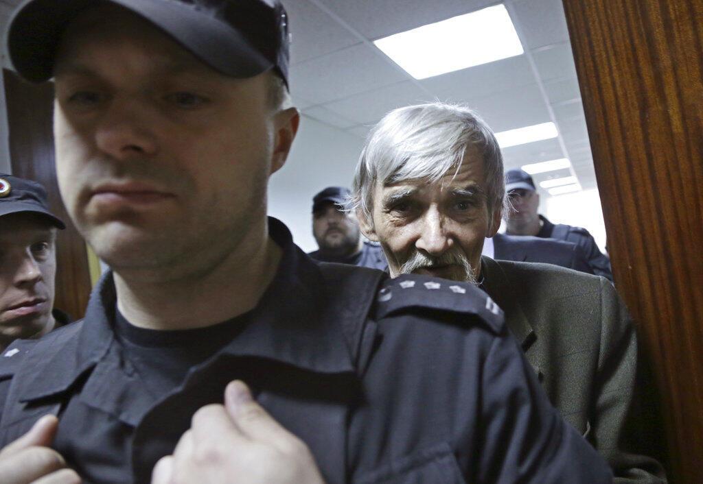 Юрий Дмитриев в суде Петрозаводска 28 июня 2018 года.