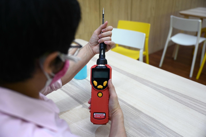 Thai device tests for coronavirus in armpit sweat - RFI