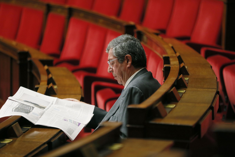 Патрик Балкани в Нацсобрании Франции, 16 ноября 2014