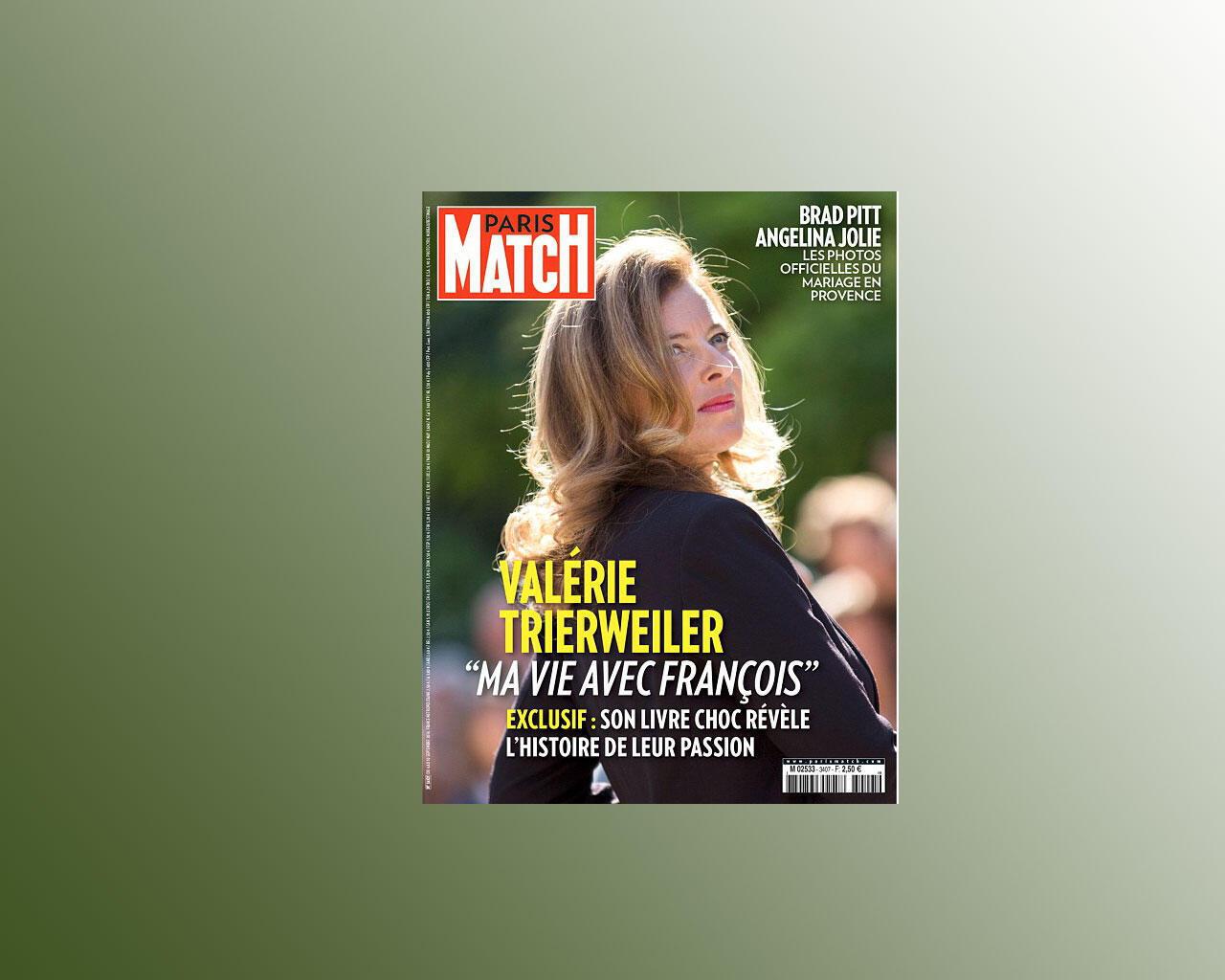 Capa da revista francesa Paris Match desta semana.