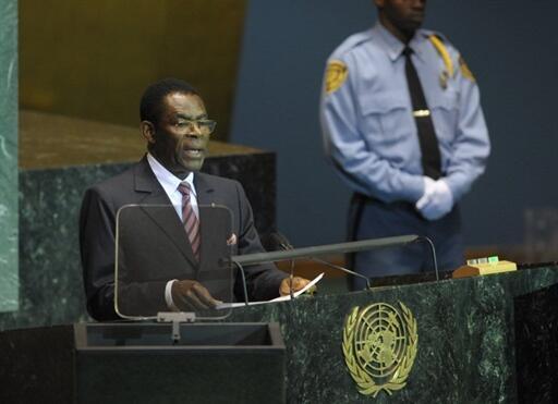 Rais wa Guinea ya Ikweta, Teodoro Obiang Nguema Mbasogo