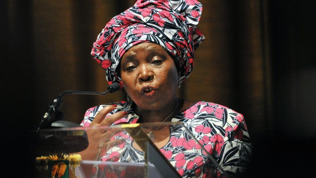 Nkosazana Dlamini Zuma, Rais wa Tume ya Umoja wa Afrika.