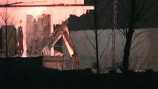Opérations de destruction de la maison de ben Laden, le 25 février 2012 (photo d'illustration).