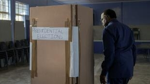 Namibian President Hage Geingob, goes to the polls to vote on Wednesday