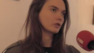 Com outras três militantes, Oksana Chatchko (foto) fundou em abril de 2008, em Kiev, na Ucrânia, o grupo feminista.