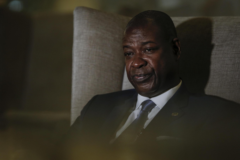 O primeiro-ministro da Guiné-Bissau, Nuno Nabian, em Lisboa, 11 de Julho de 2020.